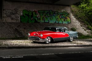 1956 Oldsmobile 98 by AmericanMuscle