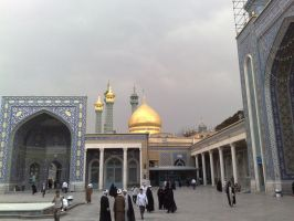 Qom - Masoumeh Holy Shrine by RagaGraphic