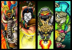 TMNT Allies 2 by Dreekzilla