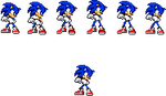 Free sonic idle -click to view- by rougespriter