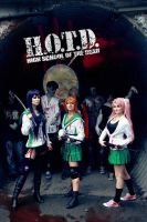 High School of the dead cosplay group by mercaspro
