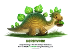 Daily 1360. Herb'ivore by Cryptid-Creations