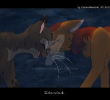 Sign of the Moon -Friendship outside Clan by JB-Pawstep