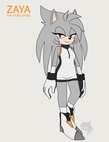 Zaya the Porcupine by Z4YA