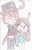 Christmas Present1- Theo and Em by SugarHIGH-cHAOS