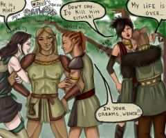 I'm Such a Zevran in colour by Elistraie