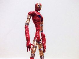 IRON MAN in wire by TheWallProducciones