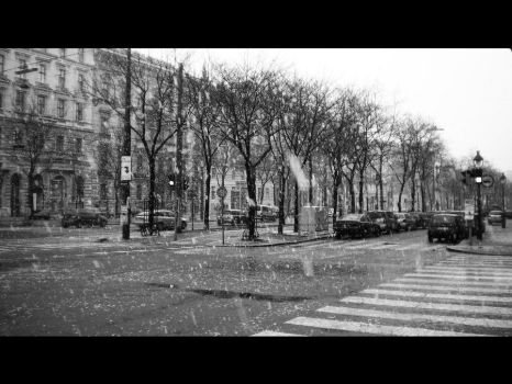 Vienna in the Snow by Idiot-teque