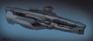 Ship Speed Paint by Shimmering-Sword