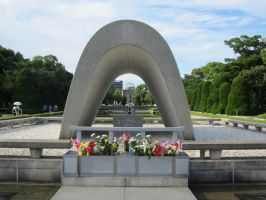Hiroshima Peace Park by Mad-Girl-with-a-Box