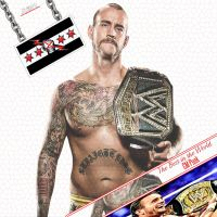 CM Punk Wallpaper by AYB12 by AyBenoit12