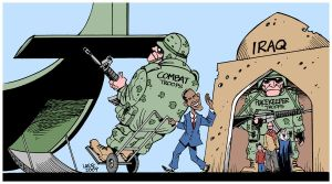 "Obama's Iraq ""withdrawal"" by Latuff2"