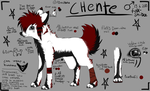 Chente - Refrence sheet by Aguashida