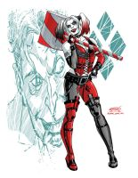 Harley Quinn Arkham City by ScottCohn