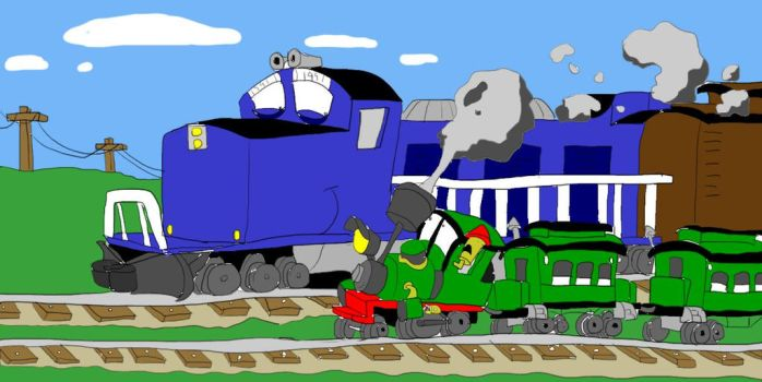 Trains, The Best of Both Worlds by SammyD91