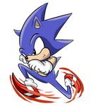 Lil' Sonic ^^ by jacobmester