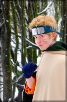 Naruto in the Snow by twinfools