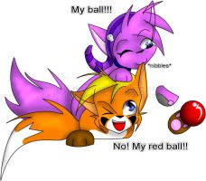 My Ball by MidNight-Vixen