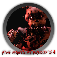 Five Nights At Freddy's 4 - Icon by Blagoicons
