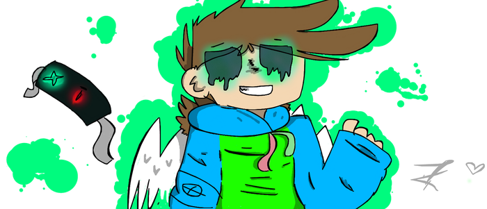 Kili : OC : Second to main : (Eddsworld style) by Toxic552