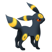 Pokemon 197 - Umbreon by illustrationoverdose