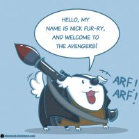 Meet Nick Furry by MeoMoc
