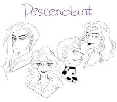 Descendants sketch by kittycat291096