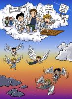 SPN: Flying Lessons by blackbirdrose