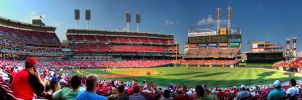 Great American Ballpark-HDR by Metallifreaknate