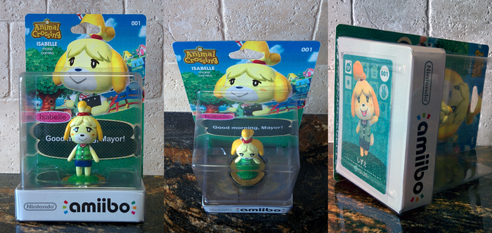 Isabelle amiibo Custom Boxed Figure by MisterAlex