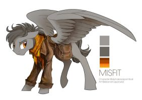 Misfit Character Commission by elbdot