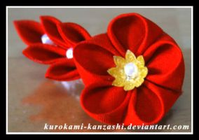 Little Red Clip by Kurokami-Kanzashi