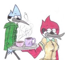 mordecai and margaret ... by Elois-luks