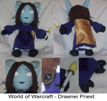 Commission: Draenei -WoW- by Necronomical
