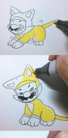 Personality of the cat Mario by Angle-007