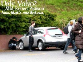 Ugly Volvo? Robert Pattison by nielleMUCH