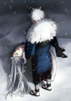 Tobirama x gin {Last goodbye} by Rarity-Princess