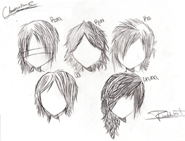 The GazettE: - - Shiver Hair by Chrysalissy