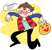 me during the halloweems season by tropicalfriend