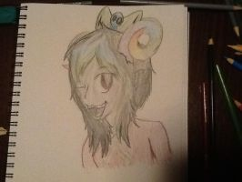 First Homestuck fanny character HER NAME IS AZULIE by shonnythehedgehog