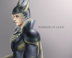 Warrior of light by dune-art