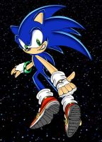 Sonic .:Thumbs up:. by footman
