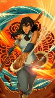 Korra I'm The Change by SolKorra