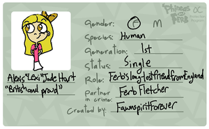 Alexis's Character ID by FawnspiritForever