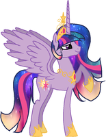 Princess Solar Sparkle by NightmareLunaFan
