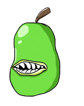 Pear Thing by LifeDragon17