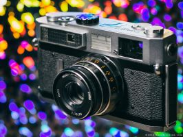 Canon 7 w/ Industar-61L/D by KBeezie