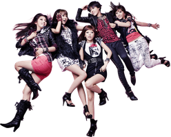 4minute Render by classicluv
