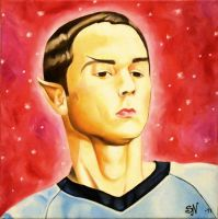 Sheldon Cooper by MissNeurotic