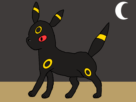 Umbreon at Night by SweetyPoke